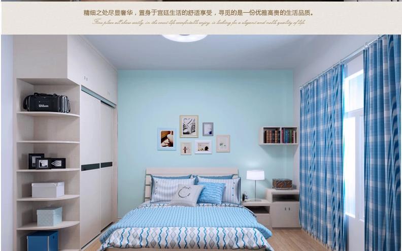 欧式diy设计整套卧室家具衣柜床书柜电视柜订制