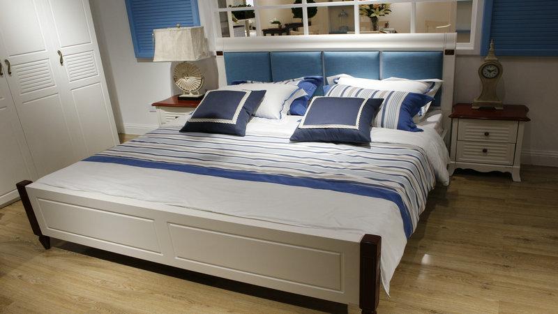 背景墙 床 房间 家居 家具 设计 卧室 卧室装修 现代 装修 800_450