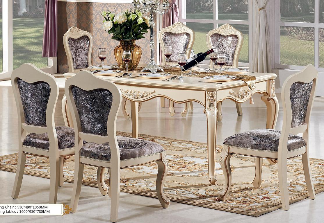 新古典欧式餐桌奢华餐桌法式天然大理石雕花餐台