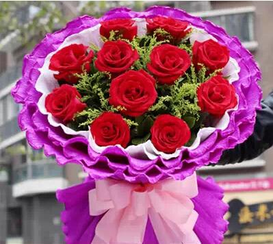 红玫瑰花束_婚嫁街_兰考在线