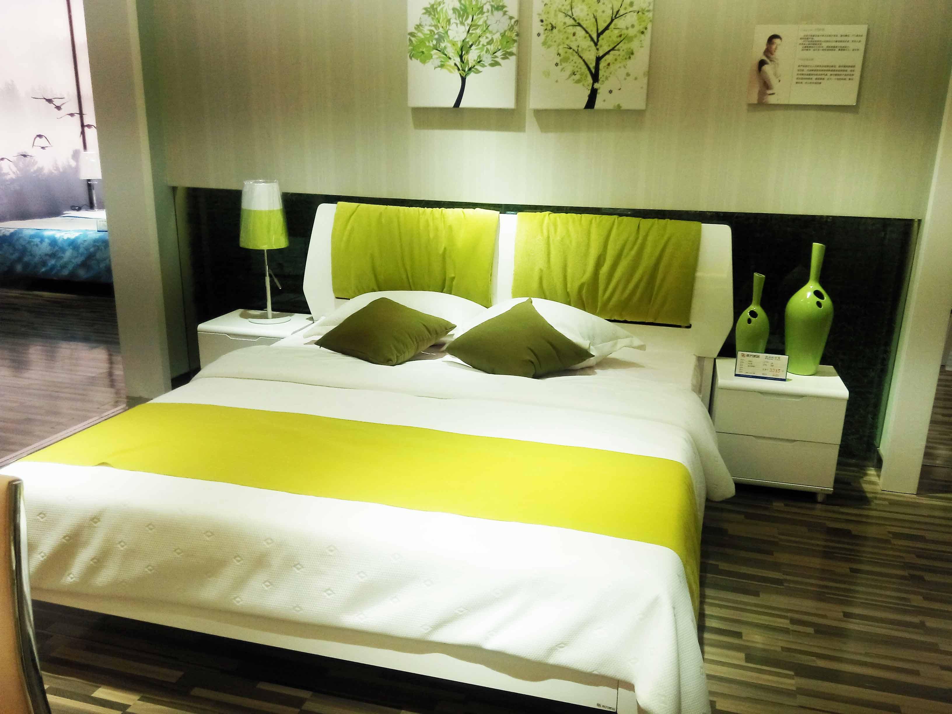 背景墙 床 房间 家居 家具 设计 卧室 卧室装修 现代 装修 3264_2448