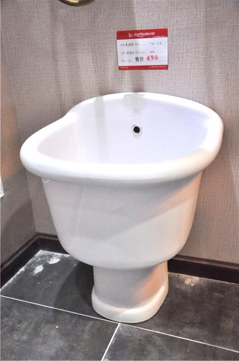 英皇牌马桶管道结构图