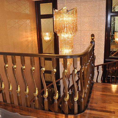 欧式皇家-mod.22实木楼梯