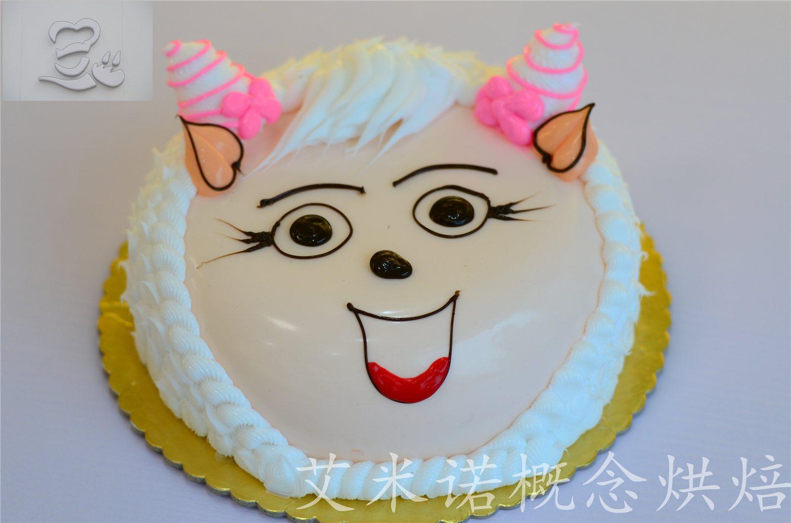 00元 关注度: 商品详情:美羊羊款蛋糕为8英寸水果蛋糕,内有夹心(水果