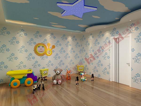 红意硅藻泥——儿童房