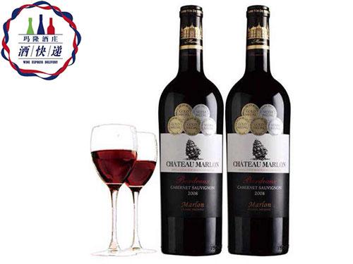 aoc玛隆限量版波尔多干红葡萄酒