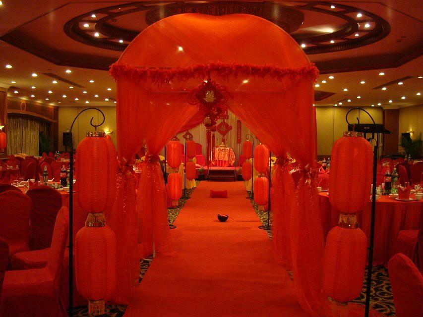 传统中式婚礼图片