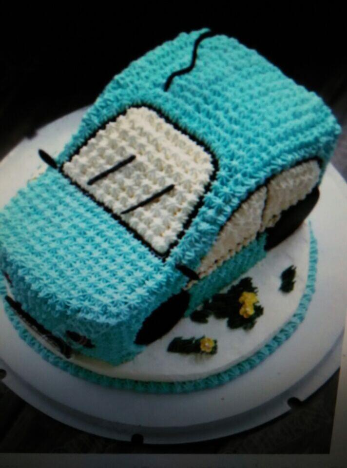立体汽车蛋糕