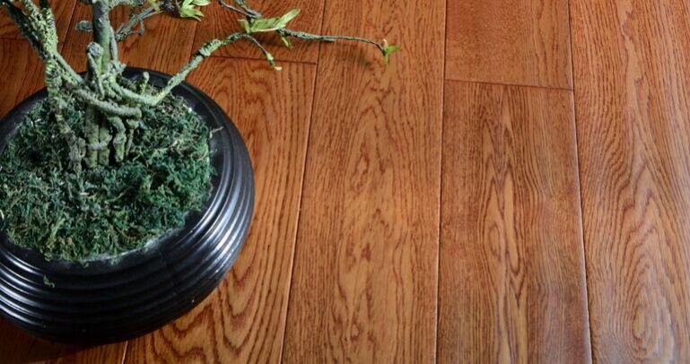 大自然槲栎木d29629puv野生原木地板