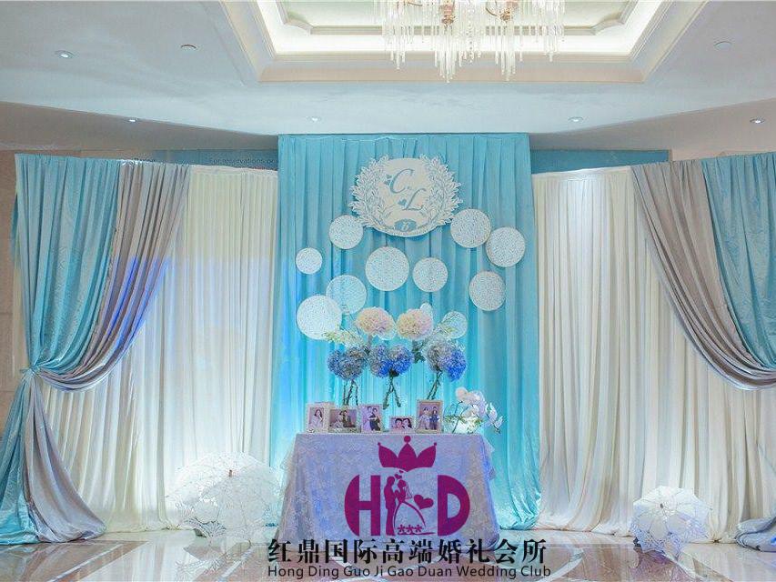 西式酒店婚礼图片