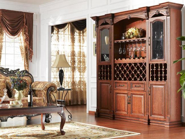 友客家居—酒柜-欧式古典风格_产品展示_齐河衣柜专卖