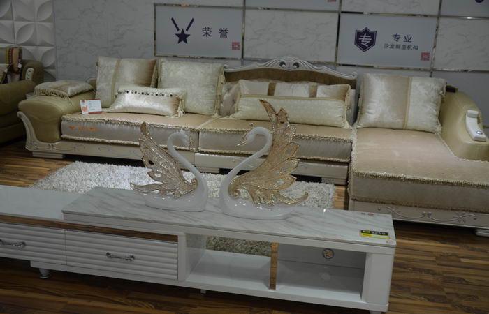 皇玛梦丽莎沙发h202bl型组合客厅进口免洗布艺沙发