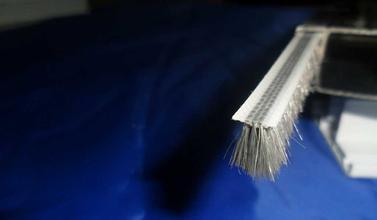 铝合金、塑钢毛条