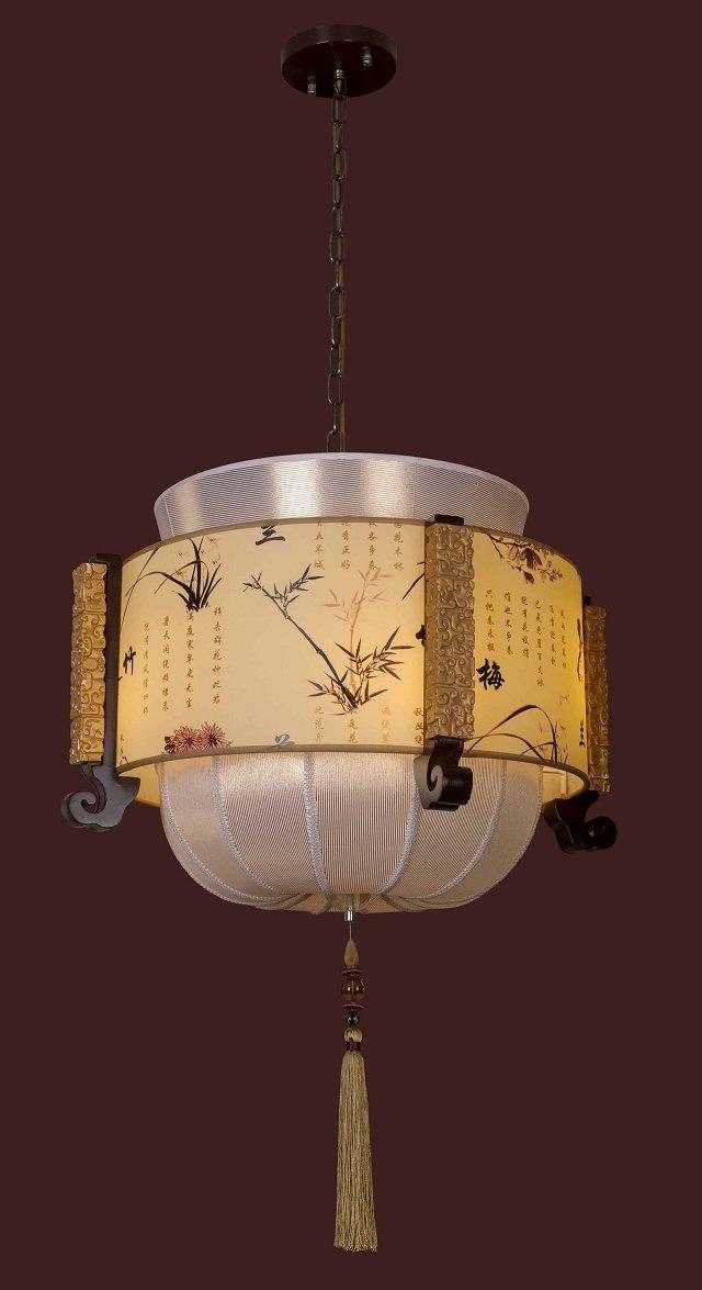 钜豪中式木艺灯