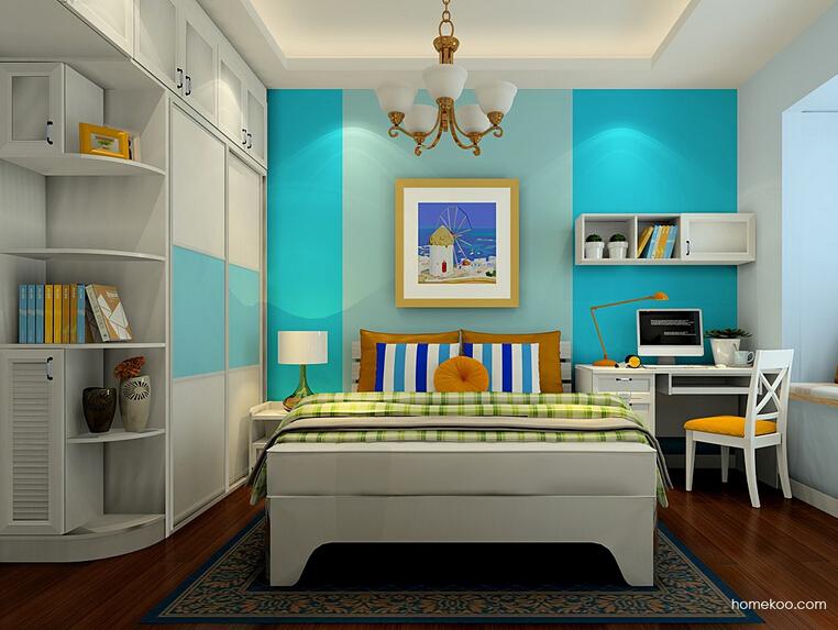 韩式田园卧房家具