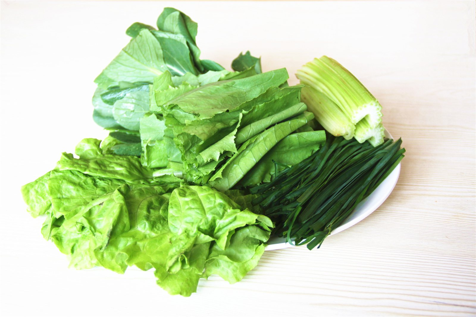 时令蔬菜大拼盘
