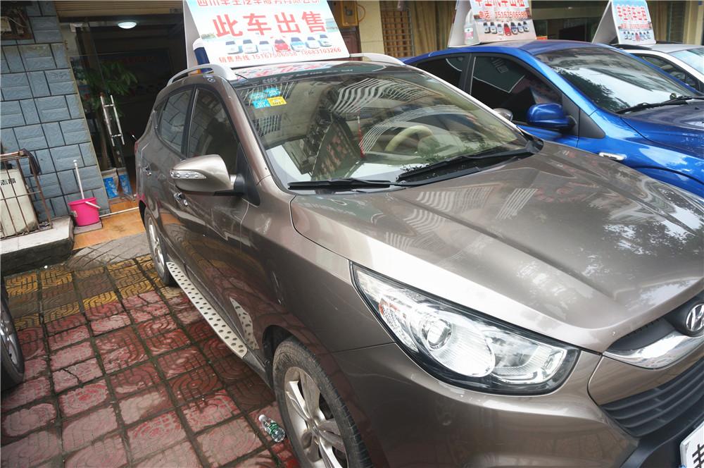 北京现代自动挡四驱越野车