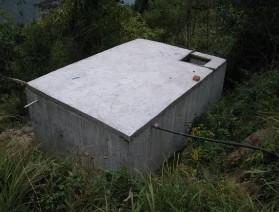 修建农村自来水,蓄水池16立方米,要用多少水泥?图片