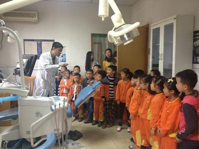 夹江县英才幼儿园开展爱牙护牙实践活动