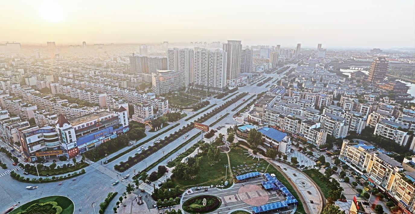 六桶城市总体规划