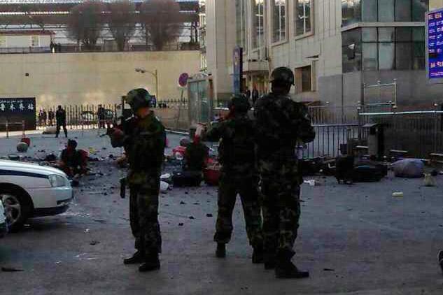 乌鲁木齐火车站发生爆炸案件