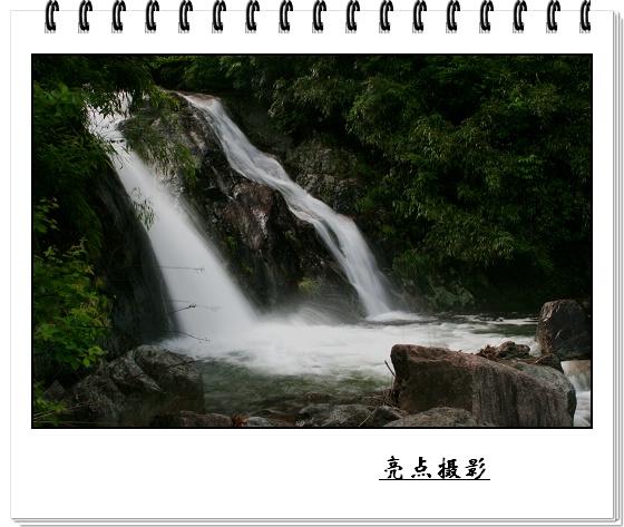 冬天竹林山水风景图片