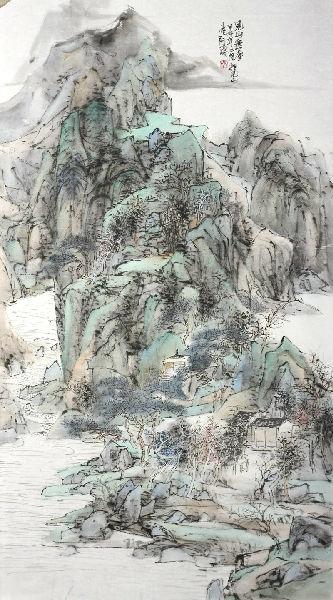 于涛获《泰山之尊——全国中国画作品展》优秀作品奖
