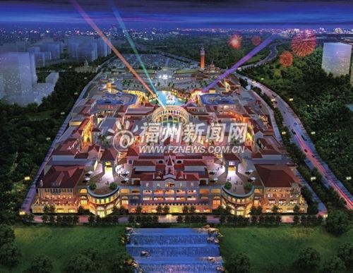 连江贵安新天地打造复合型旅游综合体