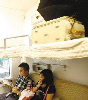 到上海软卧比飞机票贵