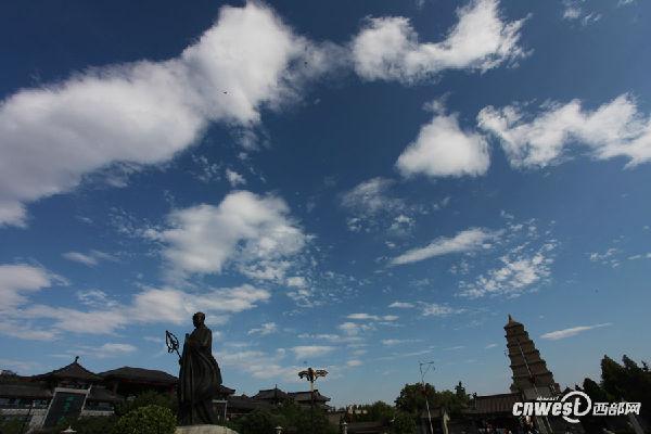 西安开启蓝天白云模式
