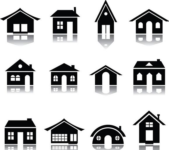 房屋形状 简笔画