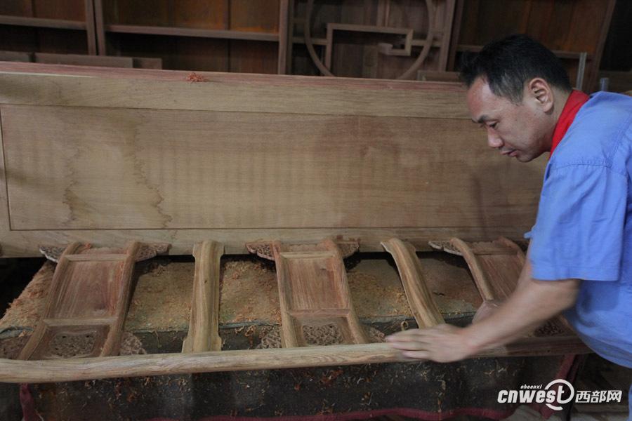红木家具是这样打造的
