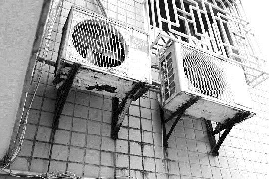 其中《空调器室外机安装用支架规范》对空调外机支架的厚度,防锈度