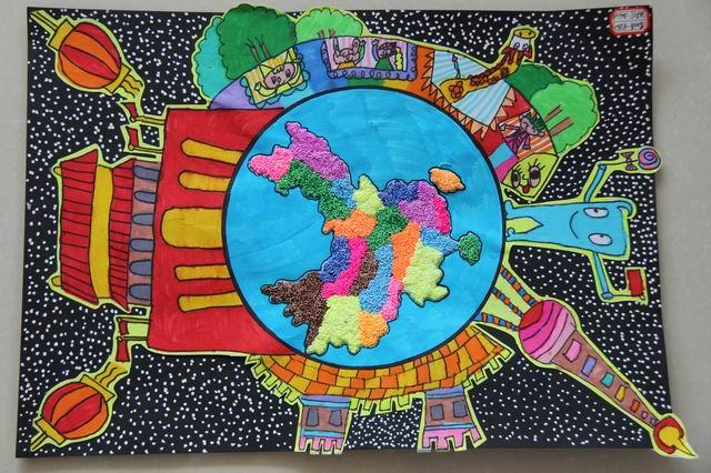 次少儿手绘地图大赛,不仅培养了