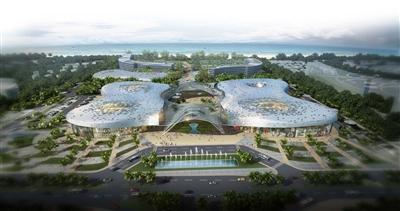 三亚海棠湾免税购物中心将于下周一开业