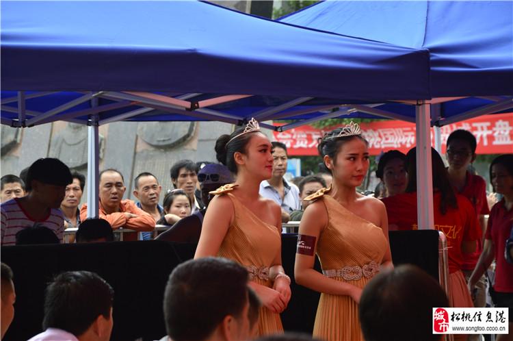 万桥 松桃国际商贸城9月7号盛大开盘 当日销售额过亿图片