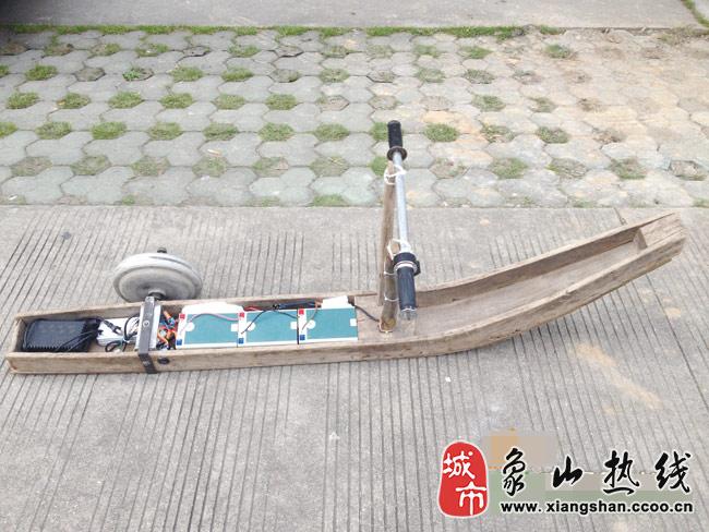 小发明小制作小船
