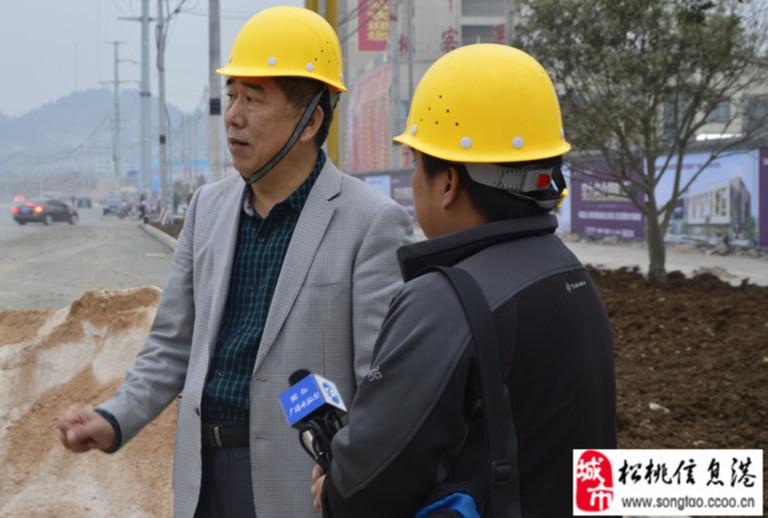 台走进 万桥 松桃国际商贸城 采访图片