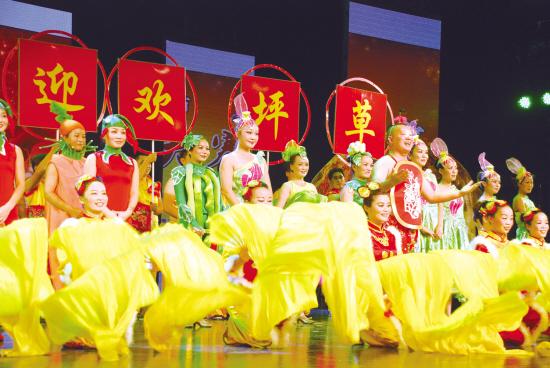 黑玫瑰歌舞团精彩演出