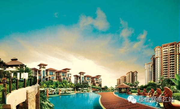 """海港新城别墅坐拥湛江""""一湾两岸"""",拥湾发展,""""五岛一湾""""的整体规划中心"""