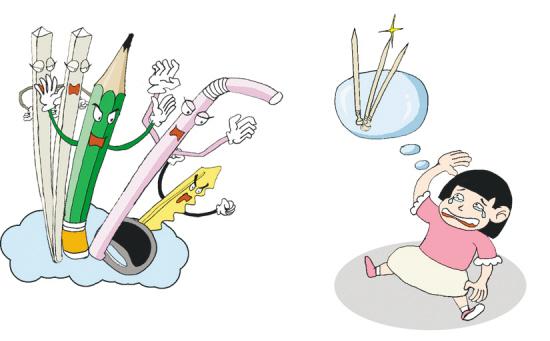 幼儿简笔画针管