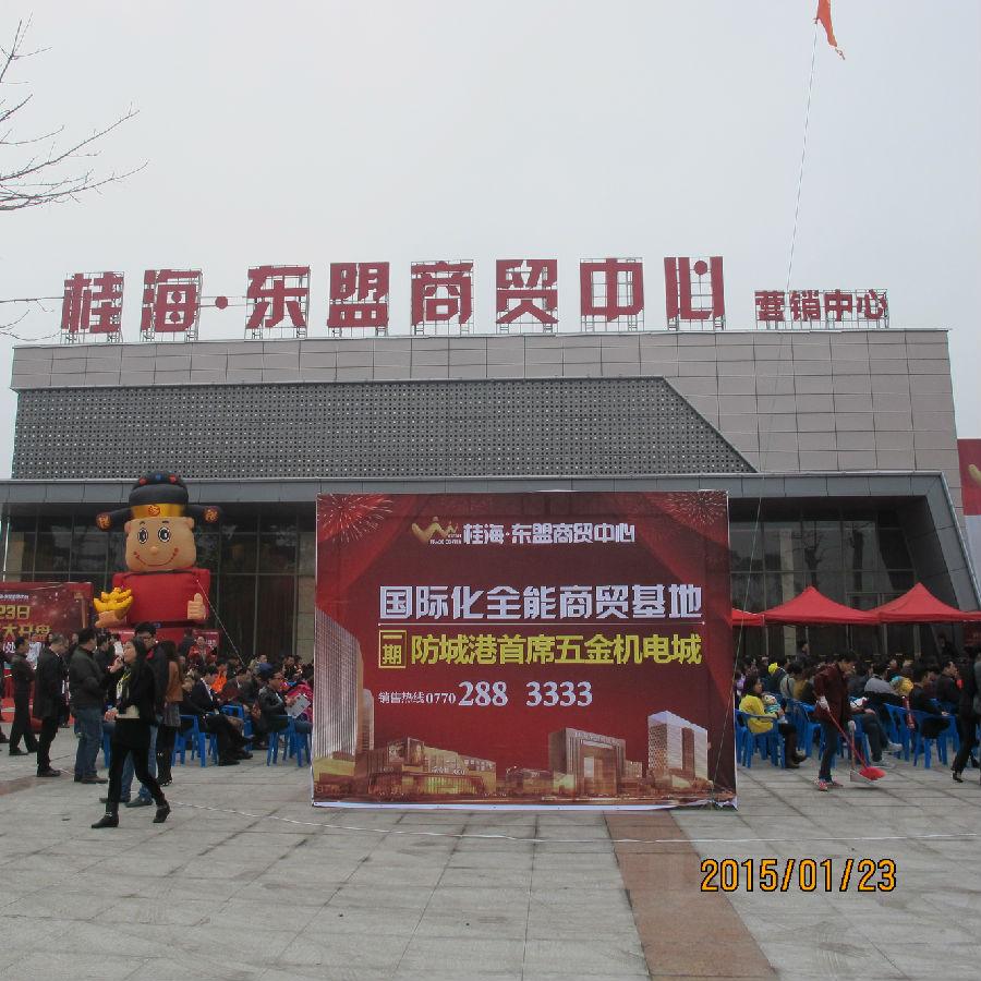 桂海・东盟商贸中心今日盛大开盘!