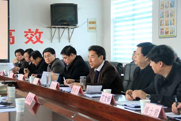 中国乡村规划设计院理事长孙君到我县考察