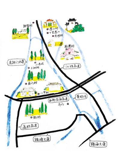珠海西部乡村生态赏花游线路指南