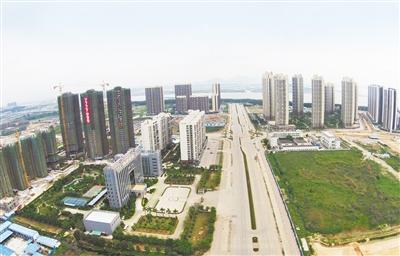 金湾航空新城建设快马加鞭 今年新城计划投入27亿元 高标准 快节奏