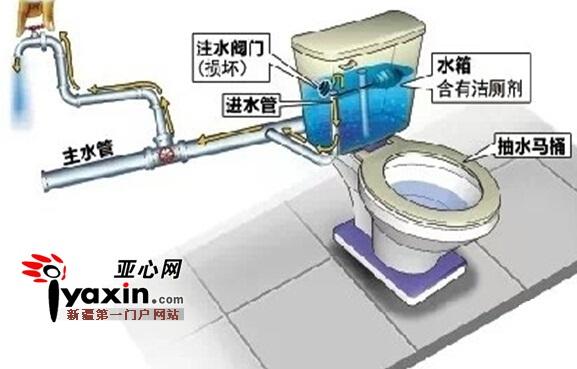 水会回流进自来水系统图片