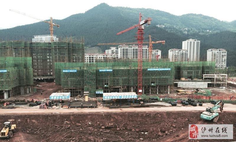 华升·古·鼎项目施工现场