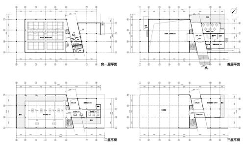 羽毛球,篮球馆在东侧,体量为35×26 米,高度为15 米;健身器械中心在西