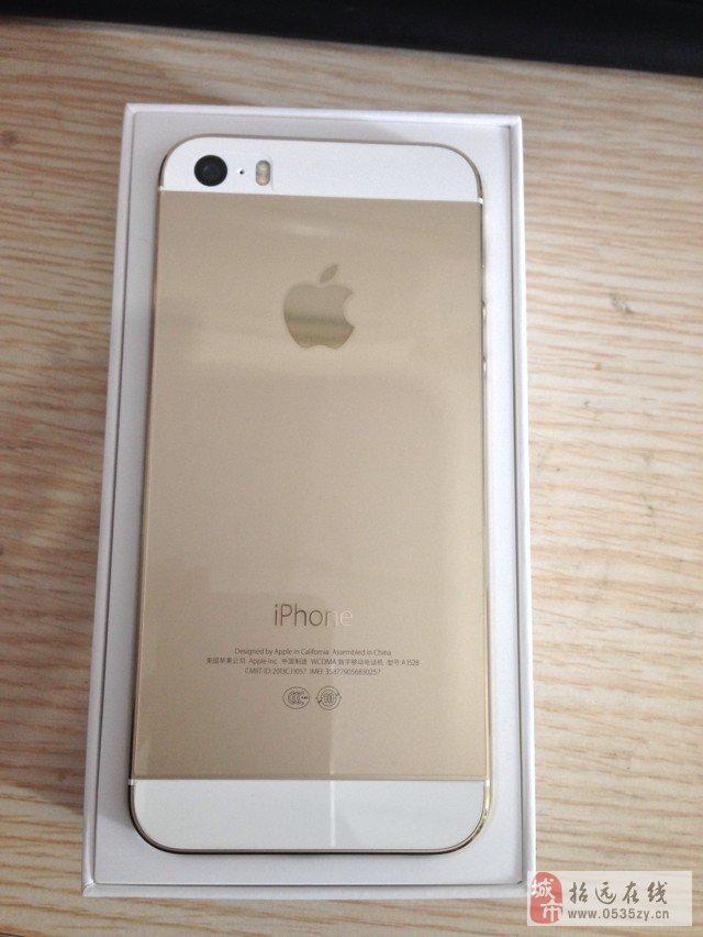 苹果5S土豪金16G