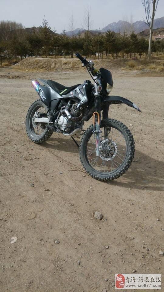 出售CQR250越野摩托车